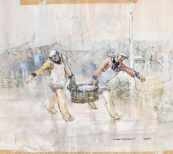 Roland Batchelor (British, 1889-1990) Ostend