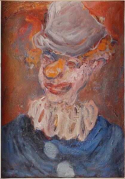 Ed Smith (British, 1923-1988) Clown