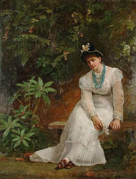 Jerry Barrett (British 1824-1906)