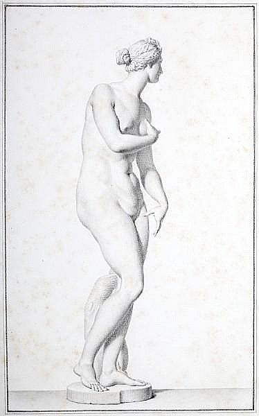 Giovanni Domenico Campiglia (Italian, 1692-1768) Study of The Venus de Medici