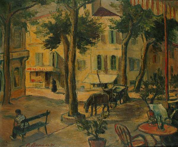 Nadia Benois (Russian, 1896-1975)