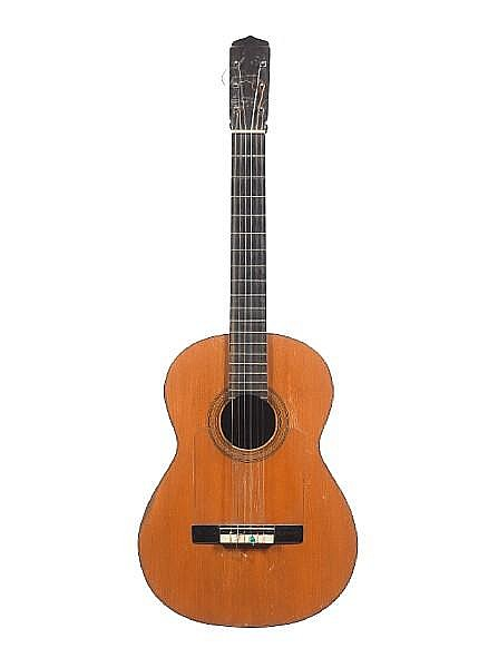 A Flamenco Guitar by Ramon Marin, Malaga, 1968, (2)