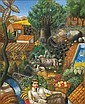 Theodoros Manolidis (Greek, born 1940) In the countryside 55 x 45 cm., Theodoros Manolidis, Click for value