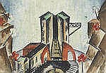 * EKATERINA PETROVA-TROTSKAYA (1900-1932) Theatre design, 1924 signed and d