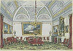 ALEKSANDER KOLB (1819-1887) Winter Palace interior signed in Cyrillic (lowe