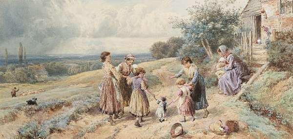 Myles Birket Foster, R.W.S. (British, 1825-1899)