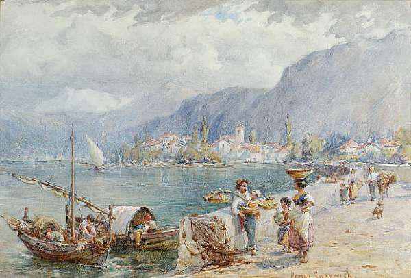 Joseph Harold Swanwick R.I. (British, 1866-1929)