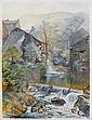 Alfred William Hunt (British, 1830-1896) Ambleside mill unframed, Alfred William Hunt, Click for value