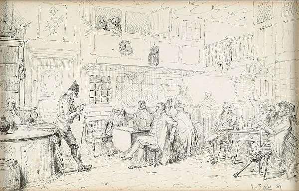 Vincent Stoltenberg Lerche (Norwegian, 1832-1892)