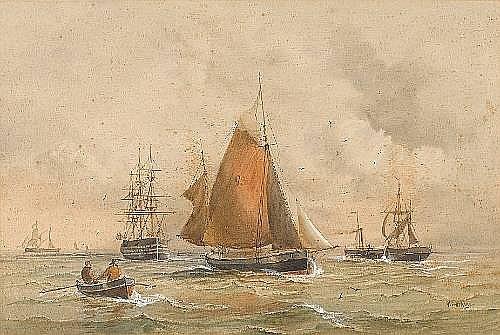 William Edward Atkins (British, 1842-1910)