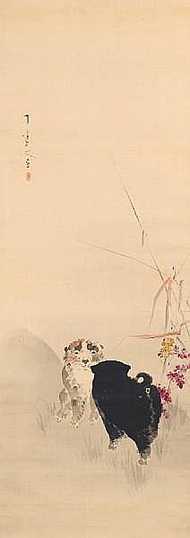 Watanabe Seitei (1851-1918) Dated 1900