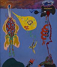 Teacher + Disciple, 1964 45 x 39 1/4in. (114.3 x 99.7cm)