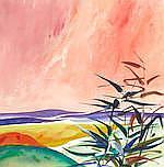 AR  Donald Hamilton Fraser RA (British, 1929-2009) Dunes