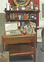 AR  Benjamin Sullivan (British, born 1977) Studio interior