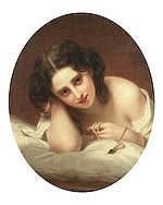 Bernardo Amiconi (Italian, ?-1879) Pensiere Matuttino