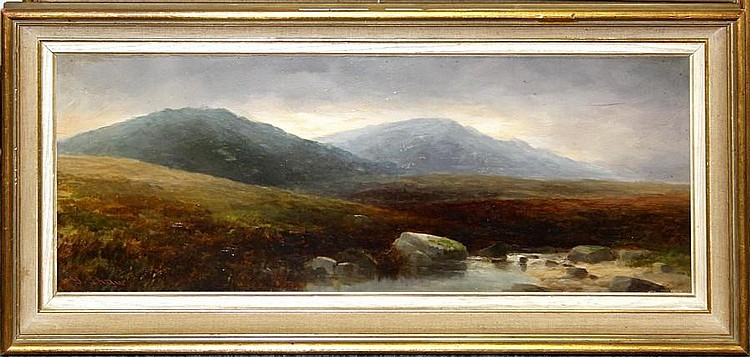 G. Shaw, late 19th Century Moorland scenes