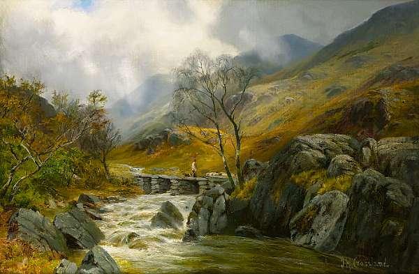J.H.Crossland (British, b.1852-1939)