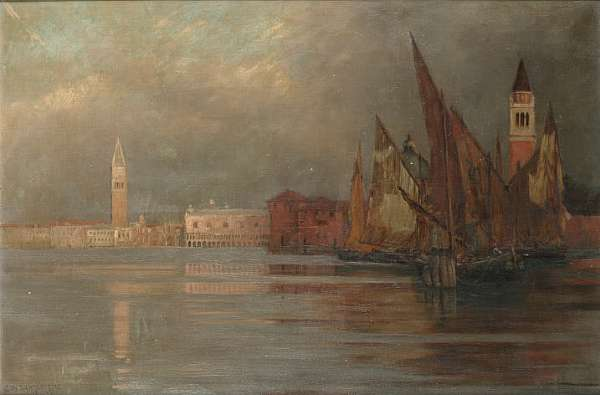 Charles William Bartlett (British 1860-1940)
