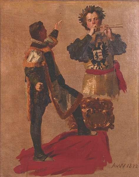 Anton Alexander von Werner (German, 1843-1915)