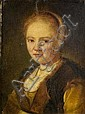 Follower of Jan De Bray (Haarlem circa 1627-circa 1697 Amsterdam) Portrait of a young woman,, Jan de Bray, Click for value