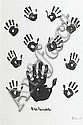 Nelson Mandela (South African, born 1918) Left hand 59 x 40cm (23 1/4 x 15 3/4in) image size, Nelson Rolihlahla Mandela, Click for value