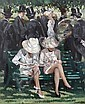 Sherree Valentine-Daines (British, born 1956) Women on a bench, Sherree Valentine Daines, Click for value