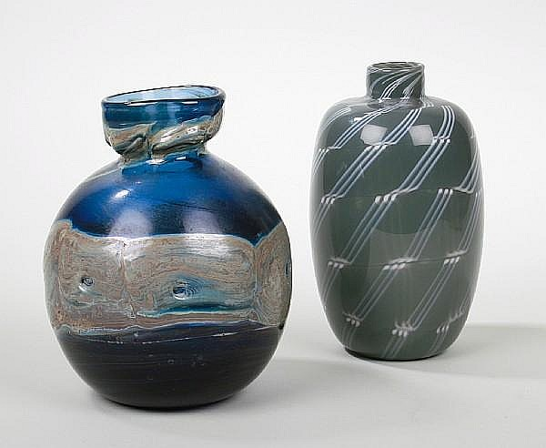 Samuel Herman: An art glass Vessel