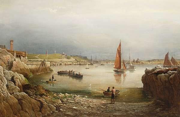 Admiral Richard Brydges Beechey (British, 1808-1895)