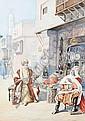 Vittorio Rappini (Italian, 1877-1939) The swordsmith, Vittorio Rappini, Click for value