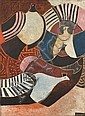 Lucky Madlo Sibiya (South African, 1942-1999) Birds unframed, Lucky Sibiya, Click for value