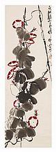 Qi Liangyi (1923-1988) Morning Glory