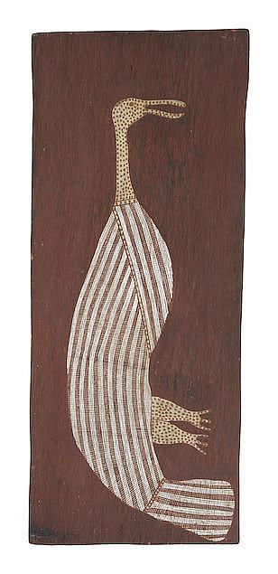 Billy Djambanuwa (circa 1938-1990) Garala Spoonbill
