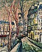 George Lawrence (1901-1981), Quai d'Anjou, Paris, George (1901) Lawrence, Click for value