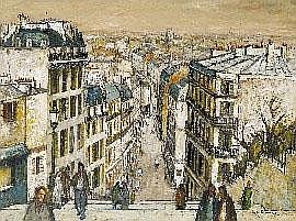 George Lawrence (1901-1981), From Montmartre 1969