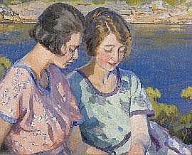 Hilda Rix Nicholas (1884-1961), (Sylvia and