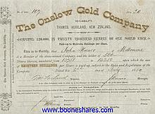 ONSLOW GOLD CO.