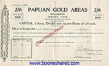 PAPUAN GOLD AREAS