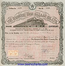 RANGOON IRON BAZAAR CO., LTD
