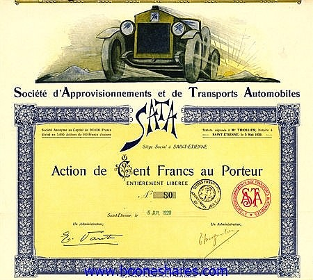 COLLECTION: FRENCH AUTOMOBILES: 380 pieces *****