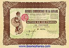 COLLECTION: FRENCH GUYANA: 8 pieces **