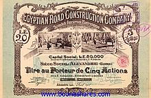 COLLECTION: EGYPT: 134 pieces ***