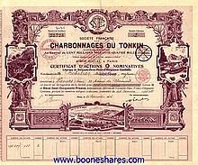 Auction No.57 of Antique Stocks & Bonds