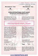 UBS - INTRAG INTERNATIONAL EQUITY INVEST - 89 types