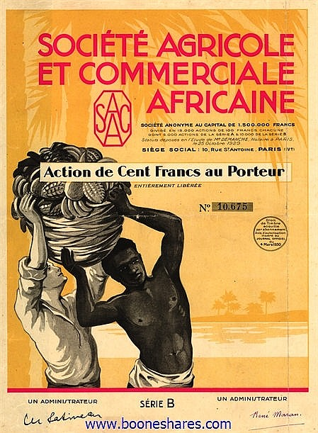 AGRICOLE ET COMMERCIALE AFRICAINE