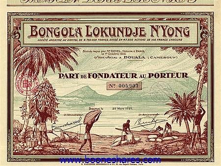 BONGOLA LOKUNDJE N'YONG S.A.