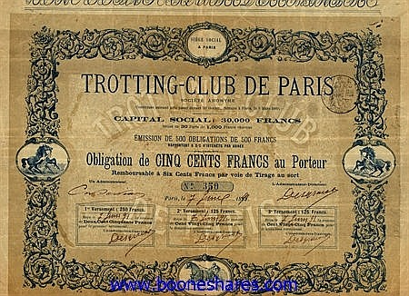 TROTTING-CLUB DE PARIS S.A.