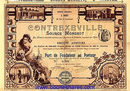 CONTREXEVILLE SOURCE MONGEOT S.A.