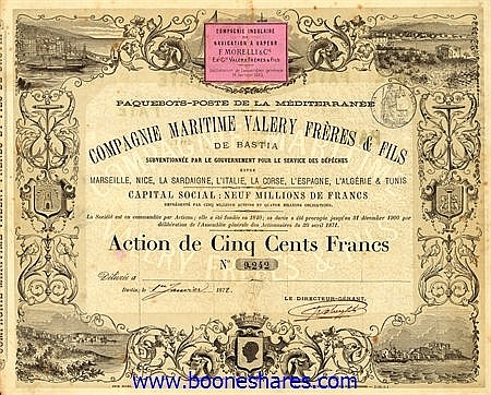 MARITIME VALERY FRERES & FILS, CIE.