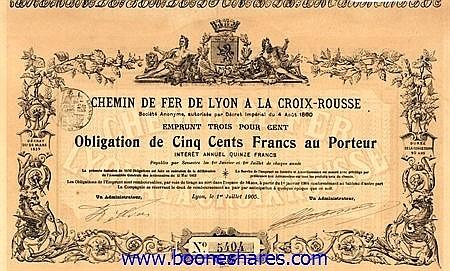 C.D.F. DE LYON A LA CROIX-ROUSSE S.A.