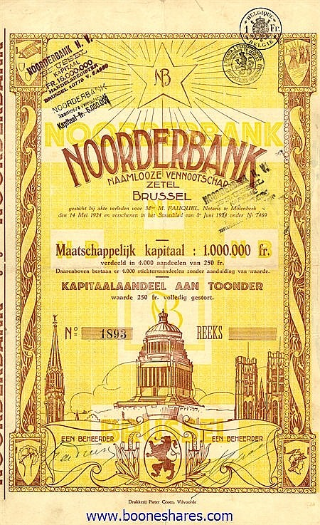 NOORDERBANK N.V.